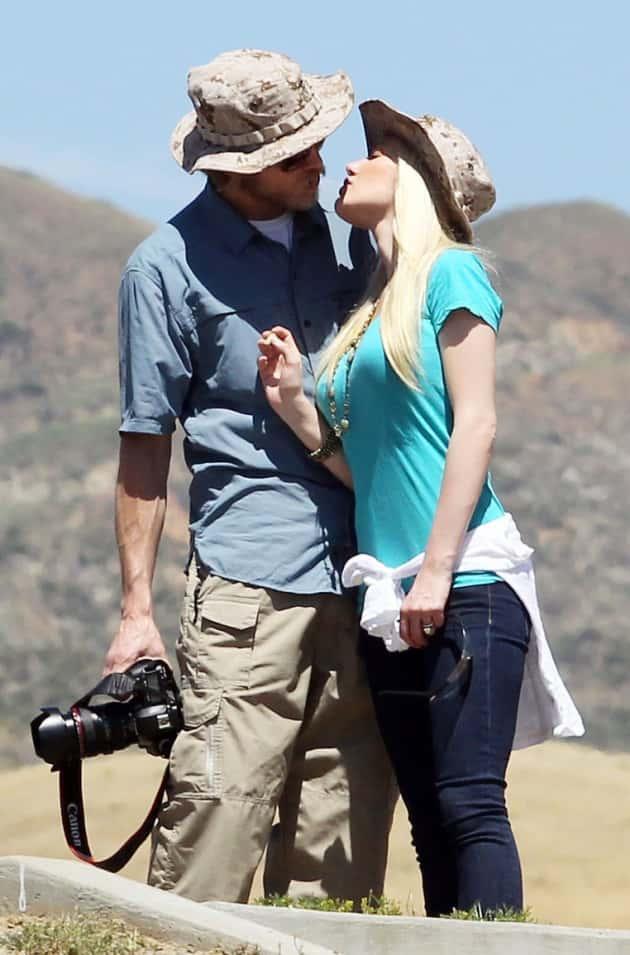 Heidi Montag, Spencer Pratt Kiss