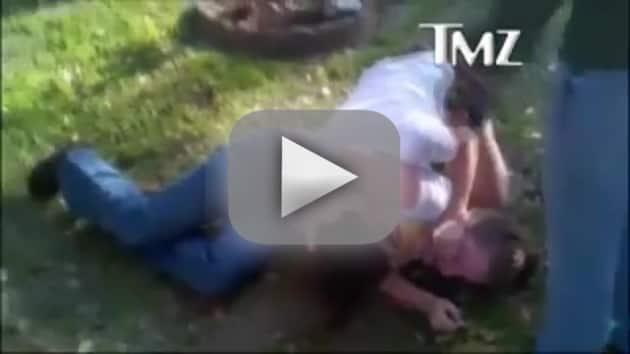 Jenelle Evans Beating Up Girl