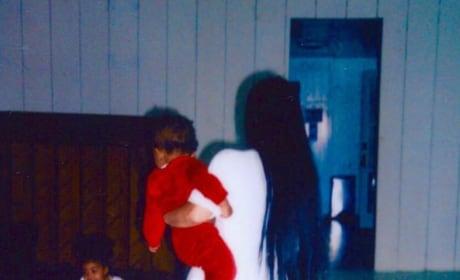 Kim Kardashian as Mom