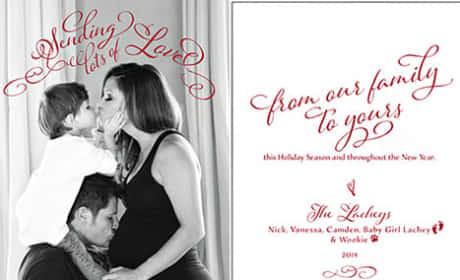 Lachey Christmas Card