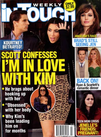 Did scott and kim hook up