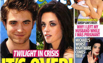 Robert Pattinson and Kristen Stewart: It's Over!