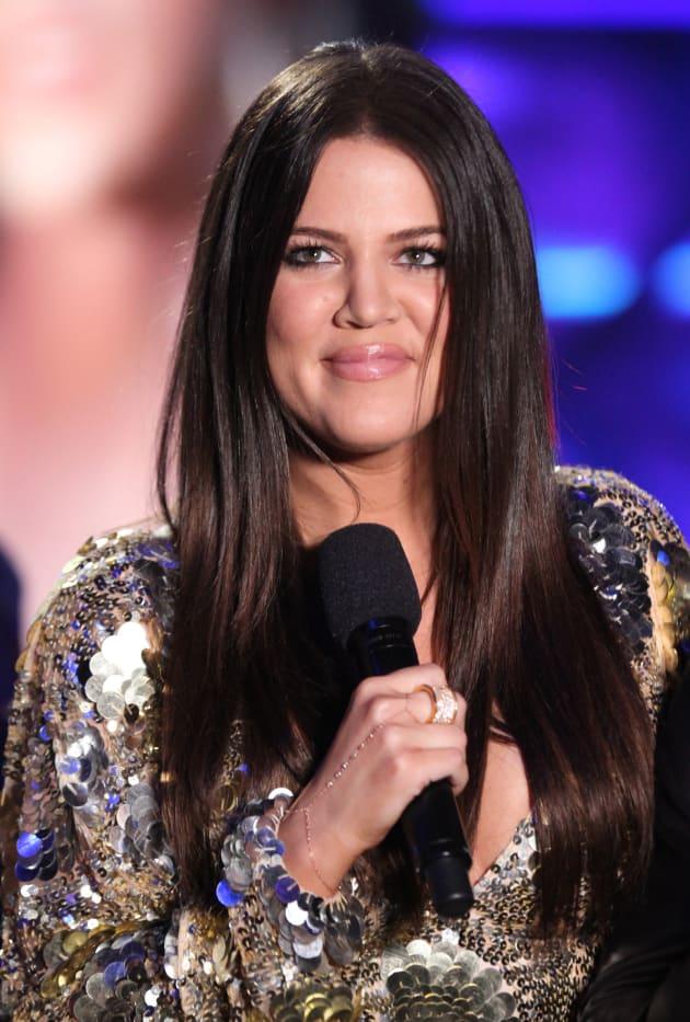 Khloe Kardashian X Factor Photo