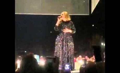 """Adele Twerks, Mocks """"Enormous Bum"""""""