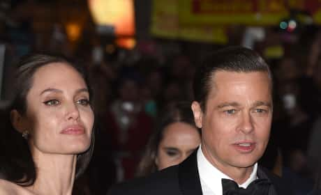 Angelina Jolie and Brad Pitt, In Better Times