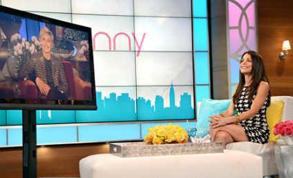 Ellen Visits Bethenny, Denies Rift Between Talk Show Hosts