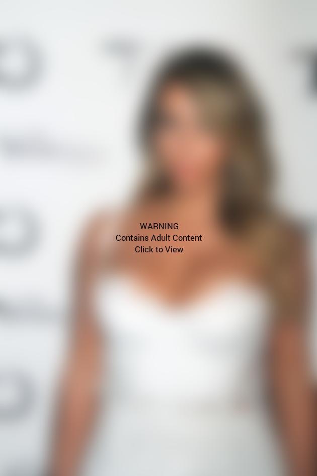 Kim Kardashian at TAO in Vegas