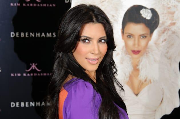 Kim Kardashian in London