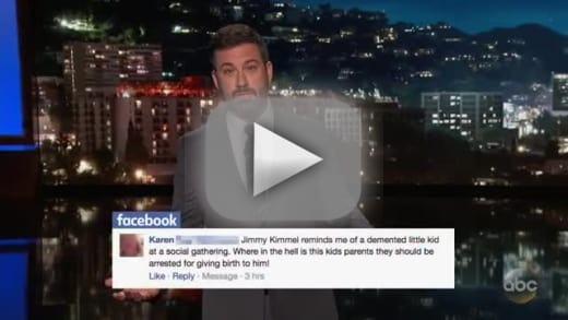 Jimmy kimmel reads mean tweets dot dot dot aimed at himself