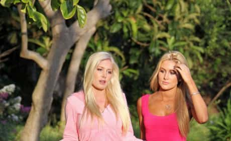 Heidi Montag and Jen Bunney