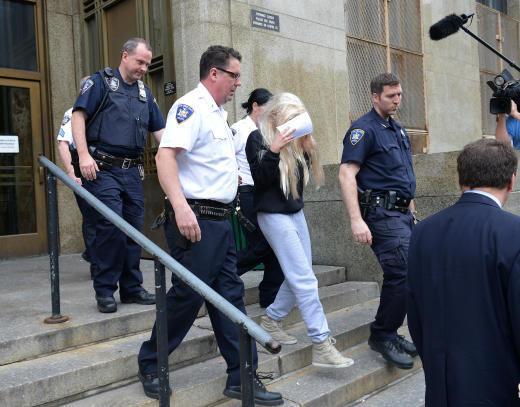 Amanda Bynes Arrest Photo