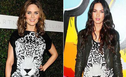 Fashion Face-Off: Emily Deschanel vs. Megan Fox