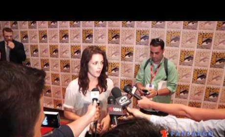 Kristen Stewart Comic-Con Interview