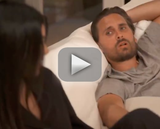 Kourtney kardashian and scott disick spend night together remini