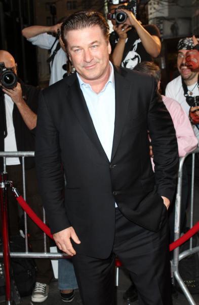 Alec Baldwin on the Red Carpet