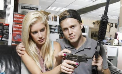 "Heidi Montag Returns From ""Pig Flue [Sic] Country"""