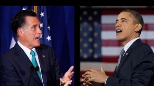 Obama vs. Romney Photo