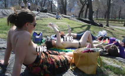 Topless Book Club: Celebrating Spring in Central Park!