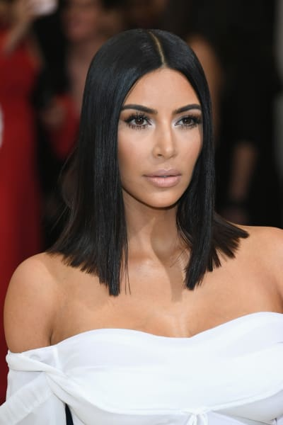 Kim Kardashian Goes Simple