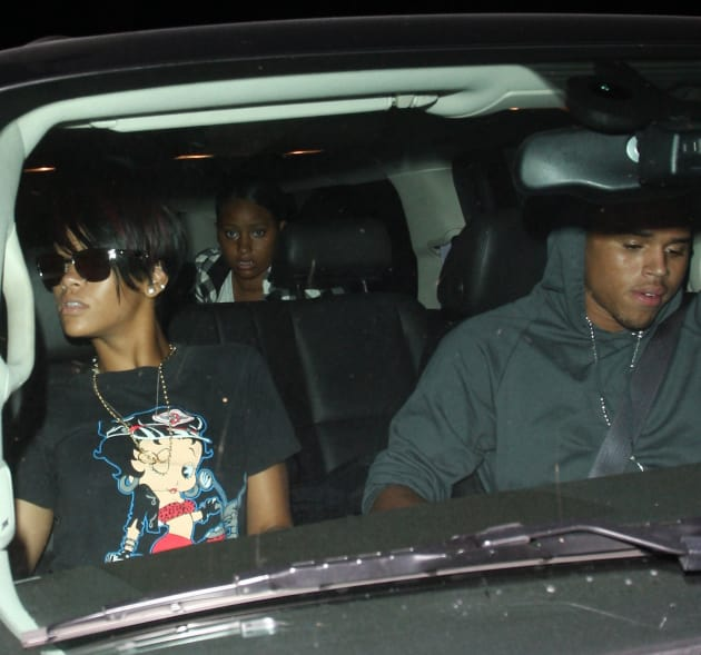 Chris Brown, Rihanna Photo