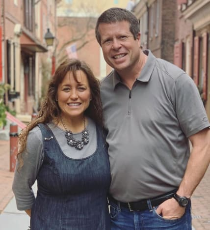 Jim Bob Duggar and Michelle on Instagram