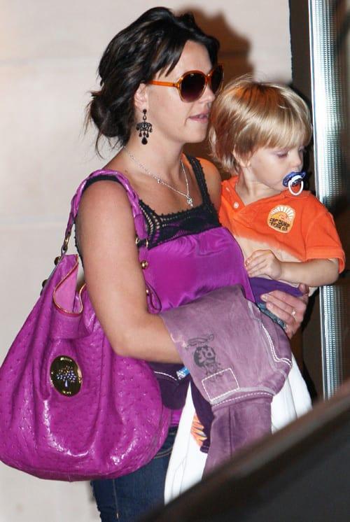 Jayden James, Britney Spears Picture