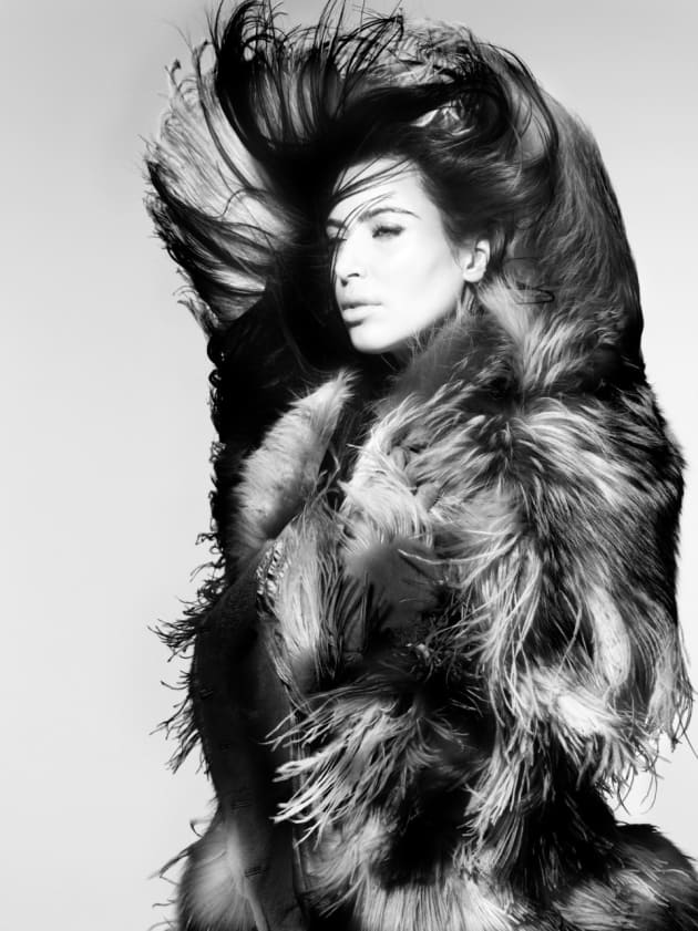 Kim Kardashian for V Magazine
