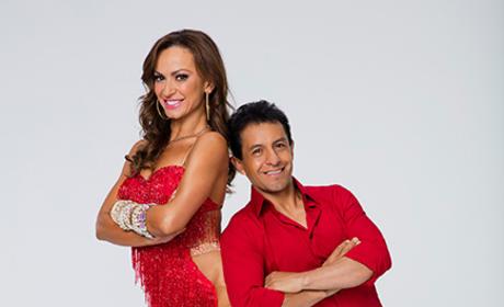 Victor Espinoza and Karina Smirnoff