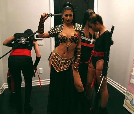 Kylie Jenner (Almost) Bares It All For Halloween - The Hollywood ...