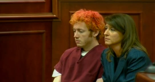 James Holmes in Court