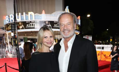 Kelsey Grammer and Kaye Walsh: So Happy!
