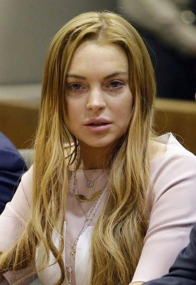 Lindsay Lohan is a WRECK