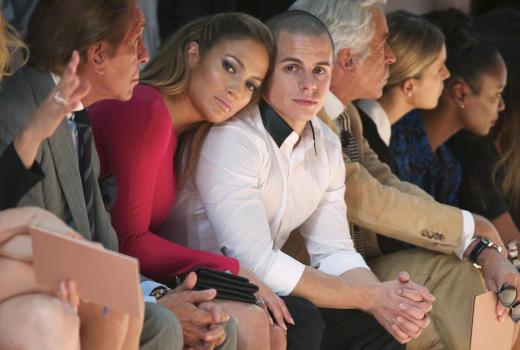 Casper Smart and J. Lo