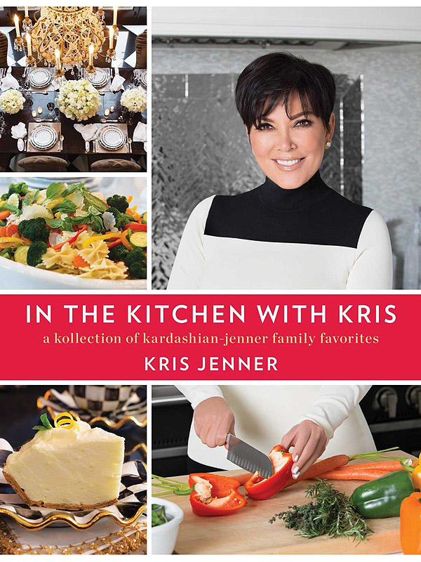 She wrote In the Kitchen with Kris