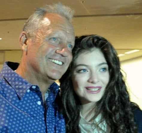 Lorde and George Brett