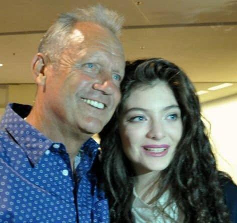 Lorde and George Brett