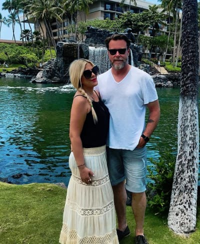Tori Spelling and Dean McDermott, 12 Year Anniversary