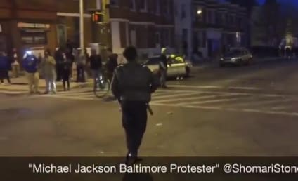 Baltimore Protester Breaks Into Michael Jackson Dance Routine: Watch Him Beat It!