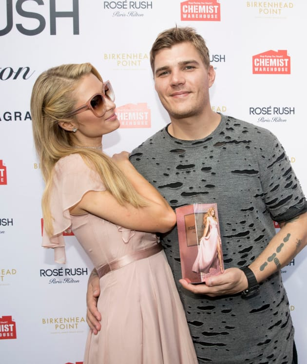 Paris and Chris Zylka