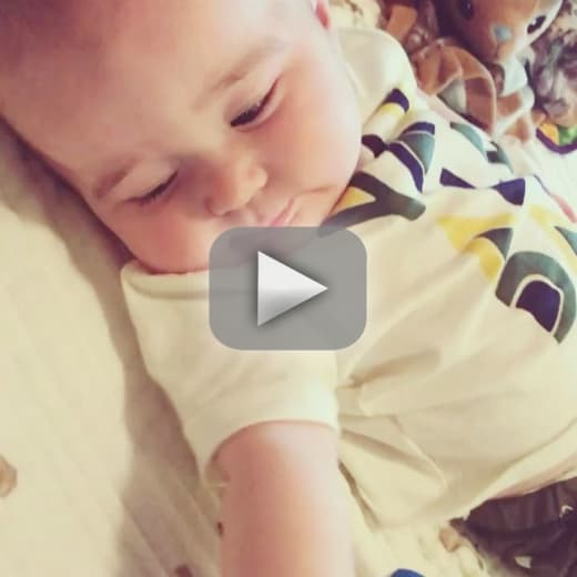 Chelsea houska see her adorable son say his first word