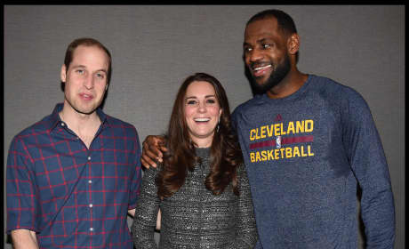 Kate Middeton, Lebron James, Prince William