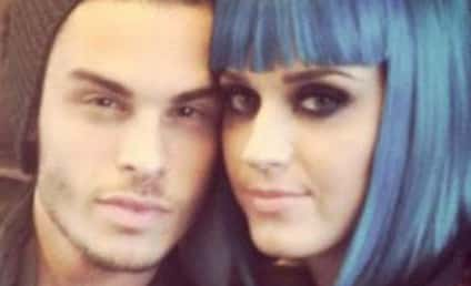 Katy Perry and Baptiste Giabiconi: Twitpic Love!