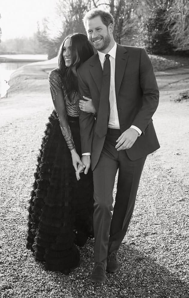 Meghan Markle Engagement Photo