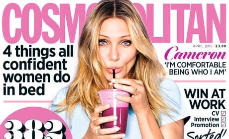 Cameron Diaz Cosmopolitan Cover