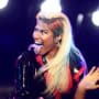 Nicki Minaj Rocks Out