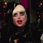 Lady Gaga on Letterman