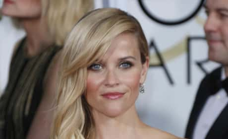 Reese Witherspoon at the Golden Globes