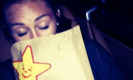 Miley Cyrus Twitpic