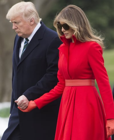 Melania Trump and Donald Together