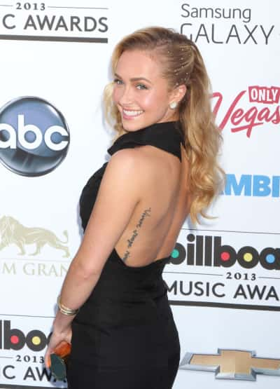 Hayden Panettiere at Billboard Music Awards